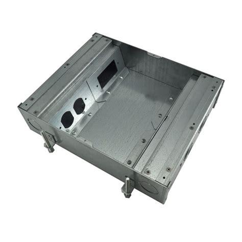 fsr fl500p3b fl 500p floor box bottom 3in depth 4x1