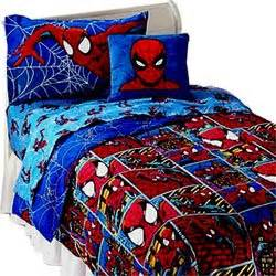 Amazoncom Spiderman  Frames  Comforter  Twin Bedding