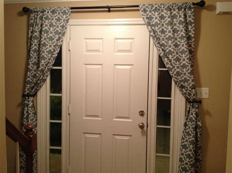17 Best Images About Curtains For Narrow Tall Windows Next To Front Door On Pinterest Curtains For Cars Windows Triple Pinch Pleat Curtain Hooks 120 Inch Tension Rod Blue And White Geometric Online Australia Net Amazon Black Red Silk Drapes