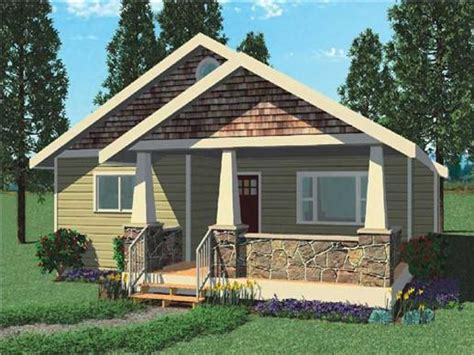 Small Bungalow Modern House Plans