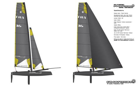 Gc32 Catamaran Cost by Foiling Phantom To Go Into Production The Daily Sail