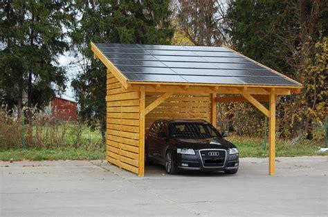 Carport Photovoltaik  Haus Planen