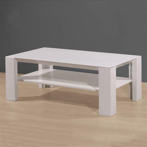 table blanc laque