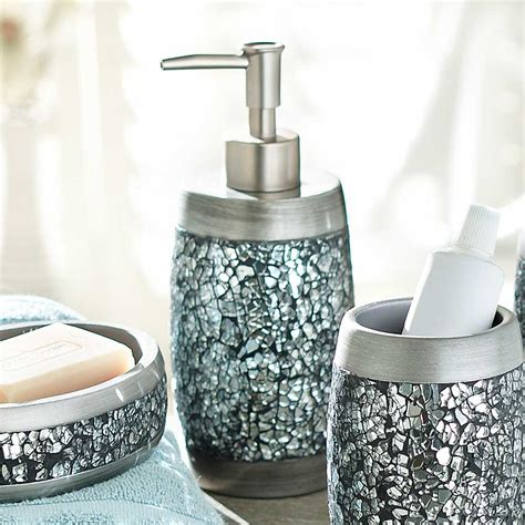 mirrored mosaic accessories for bathroom useful reviews of shower stalls enclosure bathtubs