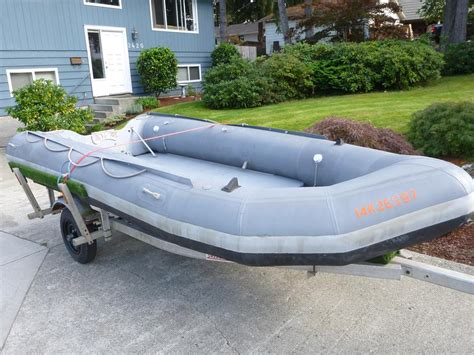 Inflatable Boats Kamloops by Avon Zodiac Style 15ft Hypalon Inflatable Boat Outside