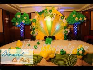 Baby Shower Decorations India by Birthday Party Decorations In Hyderabad Youtube