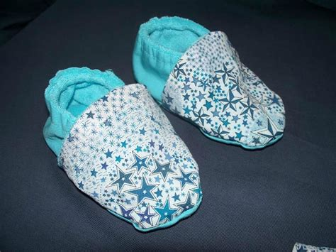 tuto couture chaussons bebe