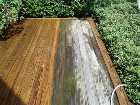 Sodium Percarbonate Wood Deck Cleaner by Wood Decks Pressure Cleaning Wooden Decks