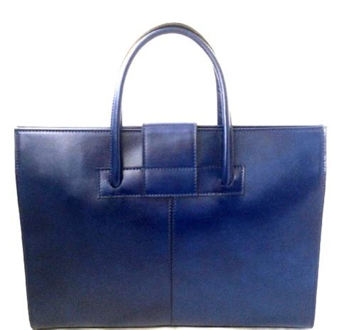 sacs 224 mains ctm femmes sac 224 porte documents en cuir v 233 ritable bleu made in italy sacs