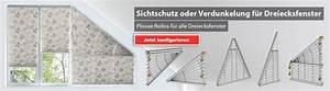 Rollos Zum Verdunkeln : plissee dreiecksfenster g nstig livoneo ~ Markanthonyermac.com Haus und Dekorationen