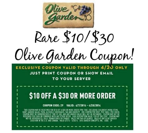 coupon olive garden 2017 2018 best cars reviews