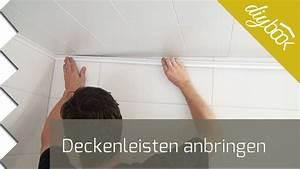 Holzdecke Im Bad : deckenleisten anbringen youtube ~ Markanthonyermac.com Haus und Dekorationen