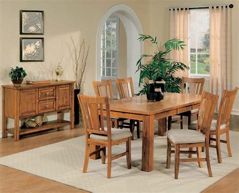 Oak Dining Room Table Chairs Marceladickcom