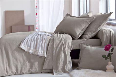 petits prix linge de lit uni de tradition des vosges literie a domicile