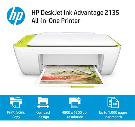 hp deskjet ink advantage 2135 all in one printer buy hp deskjet ink advantage 2135 all in one