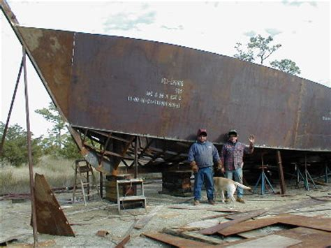 Boat Building North Carolina by Sail Popular Steel Boat Construction
