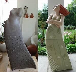 Tonfiguren Selber Machen : gro e tonfiguren f r den garten keramik kunst blog ~ Markanthonyermac.com Haus und Dekorationen