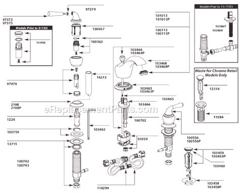 moen ca84246 parts list and diagram ereplacementparts