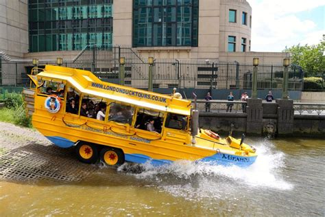 Boat Service London by London Duck Tours Exciting Hibious Tours Of London