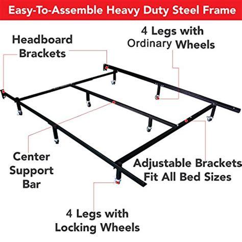 Universal Easytoassemble Heavy Duty Steel Metal Bed