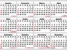 Calendario 2018 Png – Calendar Template Blank