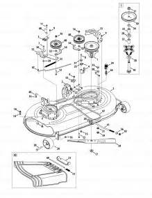 mower deck of the troy bilt bronco displaying mower deck parts for the troy bilt 13wx78ks011