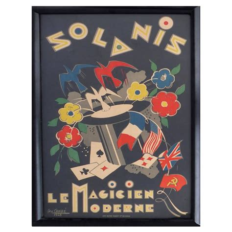 deco poster by george conde for sale at 1stdibs