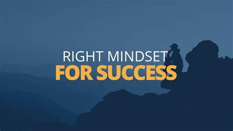 How To Develop A Success Mindset