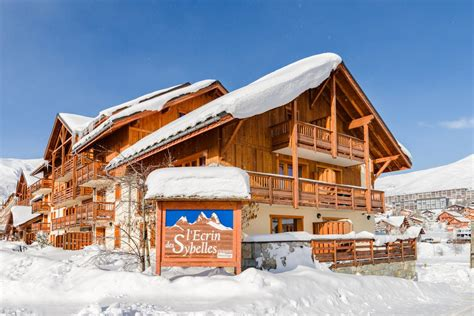 residence lagrange l ecrin des sybelles 10 la toussuire location vacances ski la toussuire