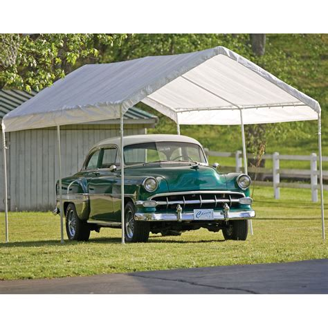 Shelterlogic 10 X 20 Instant Garage In Carports