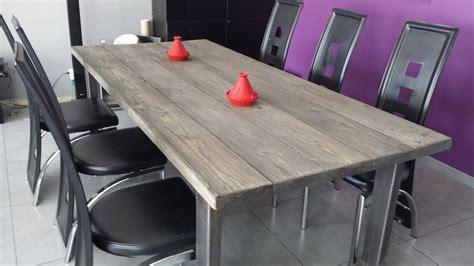 table salle a manger avec nappe grise pas cher salle a
