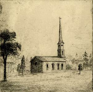 St. Paul's Anglican Church (1842-1860), Bloor St. E., s ...