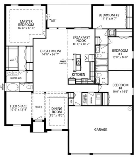 new home floorplan ta fl maronda homes