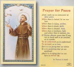 st francis of assisi prayer this is my
