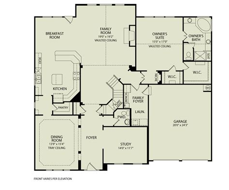 yardley 142 drees homes interactive floor plans custom homes without the custom price