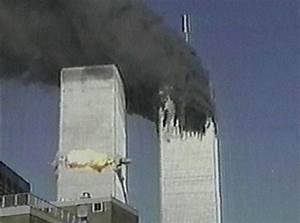 9/11: Rare footage of September 11 attacks from space to ...