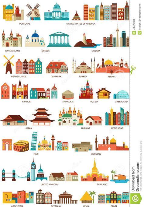 maisons du monde illustration de vecteur image 44427584
