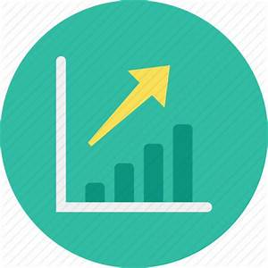 Graph, increase icon   Icon search engine