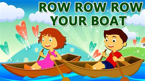 Youtube Row Your Boat Nursery Rhyme by Row Row Row Your Boat Nursery Rhyme With Lyrics Lullaby