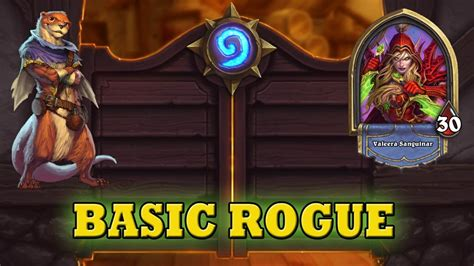 hearthstone deck guide starter rogue basic cards only