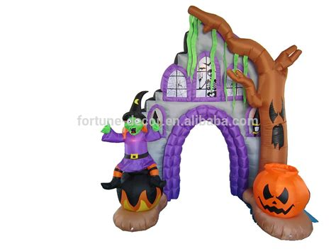 Halloween Inflatable Arch by 270cm 9ft Tall Halloween Arch Inflatable Haunted House And