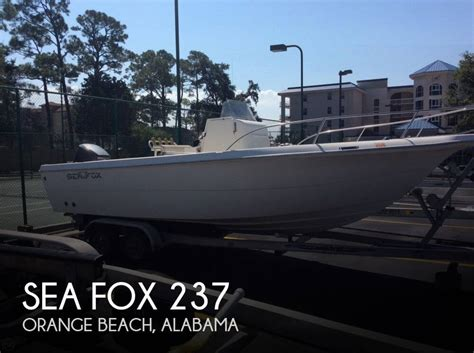 Bay Boats For Sale In Orange Beach by For Sale Used 2003 Sea Fox 237 In Orange Beach Alabama