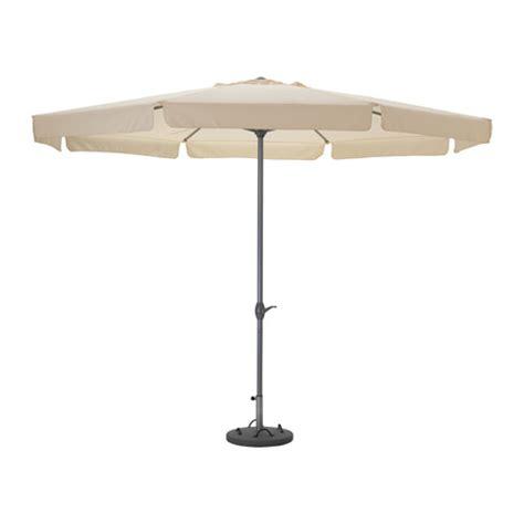 ljuster 214 parasol avec pied beige l 246 k 246 gris ikea