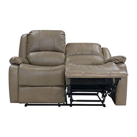 recpro charles 58 quot rv zero wall hugger recliner sofa loveseat putty best sofas usa