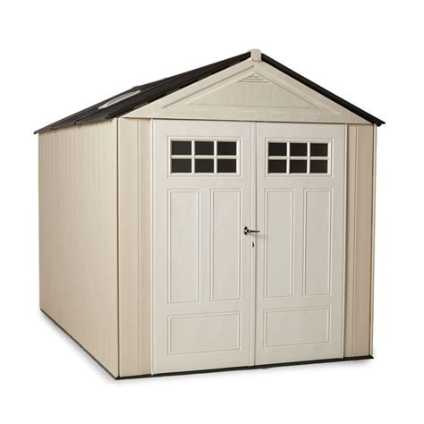 rubbermaid big max 11 ft x 7 ft ultra storage shed
