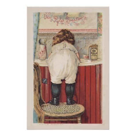 vintage bathroom wall zazzle