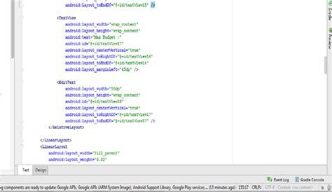 java in android studio design view not working stack overflow