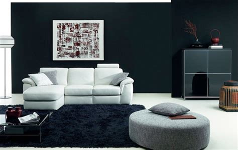 beautiful black and white living room furniture for