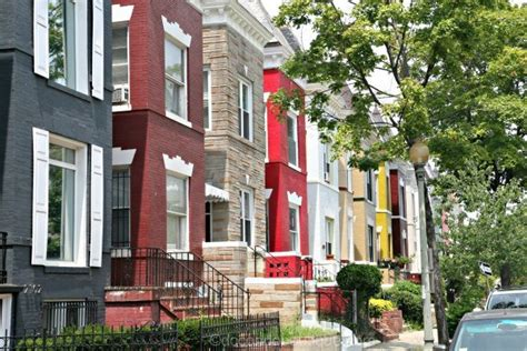 Dc Rowhouses  Washington Dc Real Estate  Atached Homes