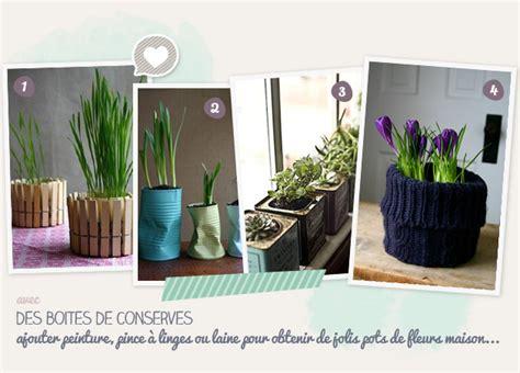 recycler des boites de conserve en pots de fleurs id 233 e cr 233 ativeid 233 e cr 233 ative